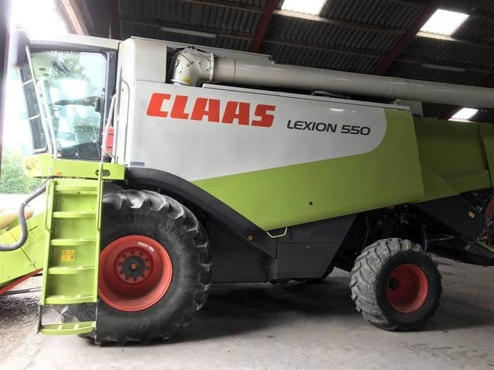 Claas Lexion 550 Nyere Raps Forsats Kan Tilkøbes. - 2007