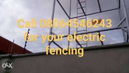 6- 8 lines electric fencing