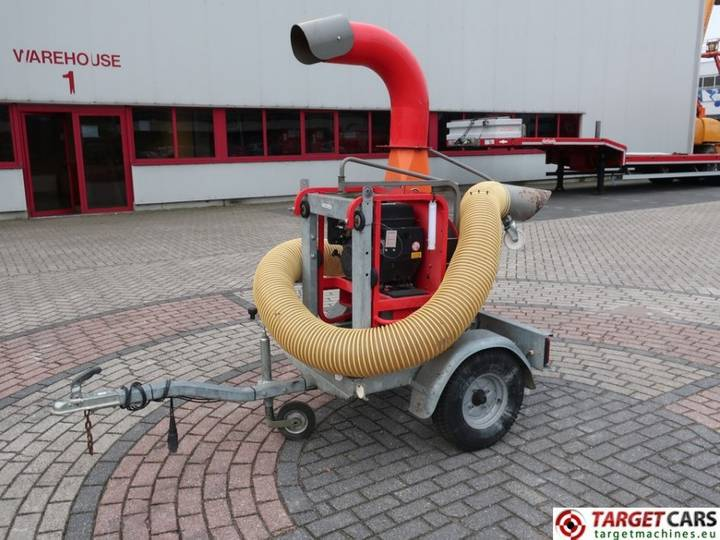 Eliet TL PRO 450 Truck Loader Leaf Blower Vacuum - 2014