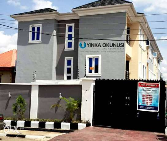 Newly 4bedrooms Terrance duplex for sale at Omole phase1 Ojodu - image 1