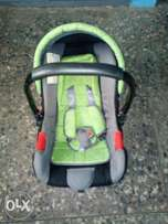 A barely used Car Seat 4 Sale
