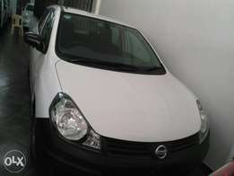 Nissan Ad white colour fully loaded.