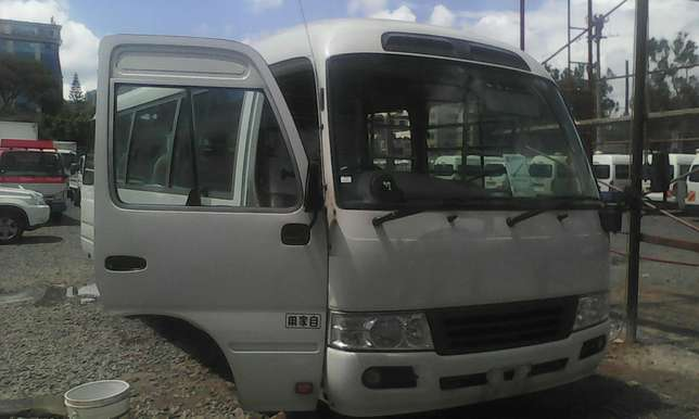 Just arrived very clean Toyota coaster bus on sale Nairobi CBD - image 4