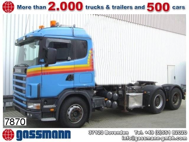 Scania 144g 530 6x4 - 1999