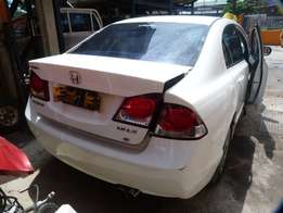 Stripping this vehicle for parts ,HONDA CIVIC 08/09 1.8 VXI SEDAN.