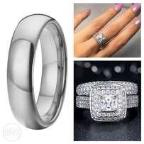 Stunning His & Hers Rings Set
