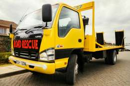 Breakdown Tow Car Carrier Road Rescue Service