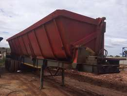 30 tons side tipper trailer