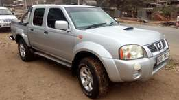 Nissan Navara double cabin KBR 2005 model