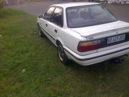 Toyota corolla 160i 1995 excellent condition R17400