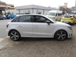2014 model audi a1 1.4 tfsi sportback,white,leather,46 000km,for sale