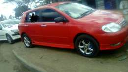 Hi selling Toyota allex very clean buy&Driver Car
