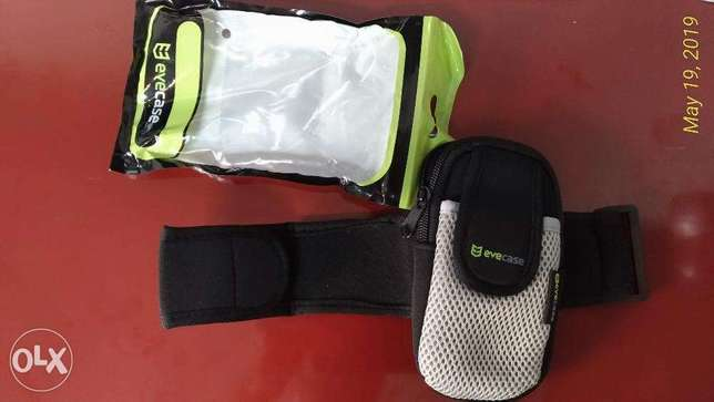 upper arm sleeve holder for iphone ipod - great for running gym sports