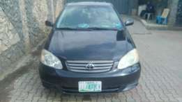 1 month Registered 2003 Toyota Corolla