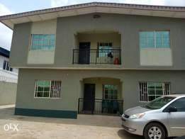 Decent 3 bedroom flat off Folarin street, Alimosho