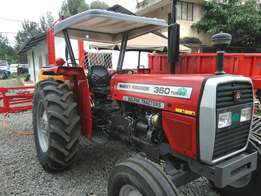 Mf 360,turbo charge,brand new with boom sprayer 600 litres.