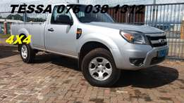 2011 Ford Ranger 2.5 4X4 p/u s/c Good Condition,171000kms R109900