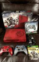 Xbox One S 2TB Console Gears of War 4 Limited Edition Bundle & 7 games