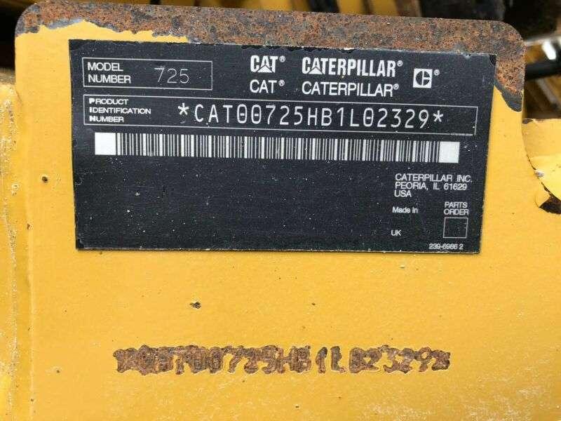 Caterpillar Dumper 725 ** BJ2009* 12440H** Top Zustand! - 2009 - image 30
