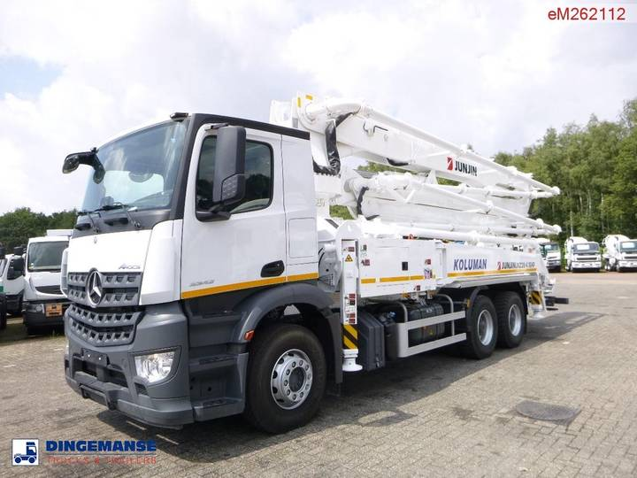 Mercedes-Benz Arocs 3342 6x4 Jun Jin JXZ38-4.16HP concrete pump NEW/UNUSED