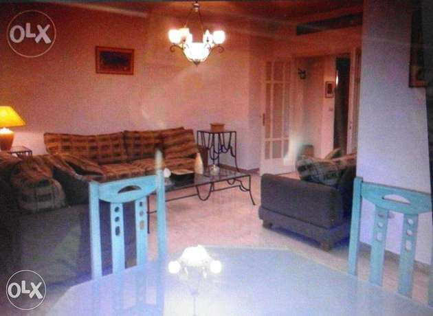 Furnished apartment for rent in Rabieh Very calm place st. #9 bldg 82A