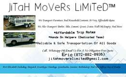 Affordable Transport Rates ,Reliable Transportation ,Friendly Service