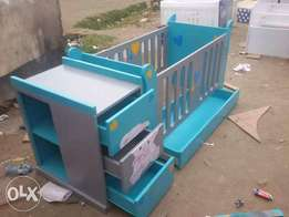 Baby cot.well crafted from Binti Afrika designs