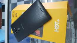 Hot 4 Lite 4G brand new and sealed with 1yr warranty