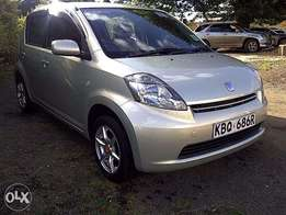 toyota passo on quick sale