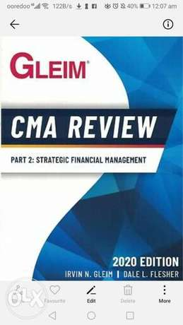 CMA part one book available in pdf only- please WhatsApp