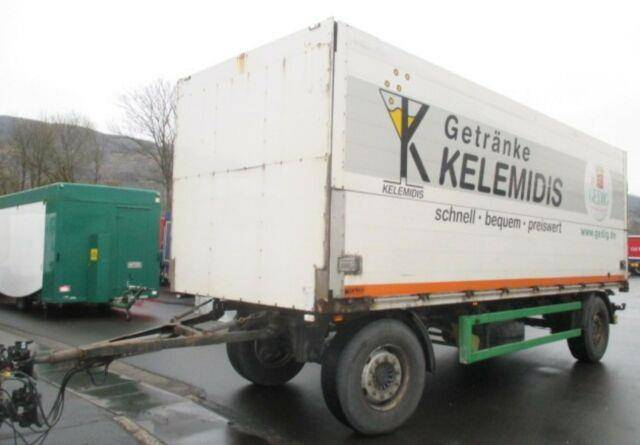 Orten 2 Achs Schwenkwandanhänger Kettliner, Vollluft, - 2009