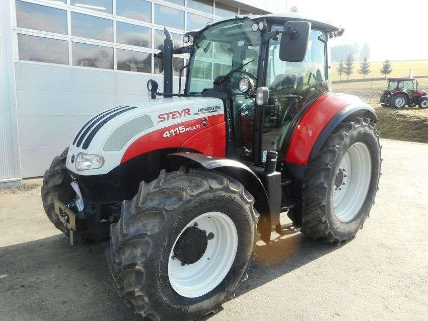 Steyr 4115 Multi Profi - 2015