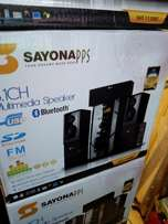 Sayonna 3.1 Bluetooth sub woofer system