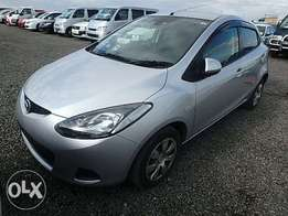 Mazda Demio Sport Year 2010 Model Automatic 2WD Silver Color Ksh 630K
