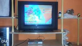 21inch LG TV and Startimes decoder