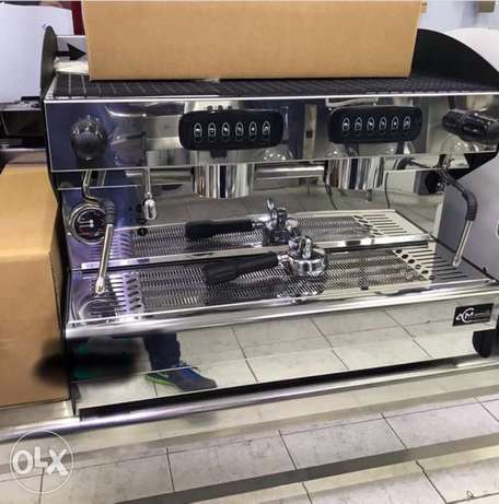 1000 bd ACM 2gr rounder coffee machine MADE IN ITALY 2 group automatic