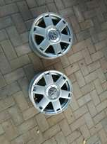 15 in Velocity Rims Without Tyres R3000 neg