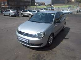 vw polo vivo 1.4 hb blue line 2013 silver colour