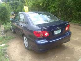 Clean Toyota Corolla 2007 fairly used