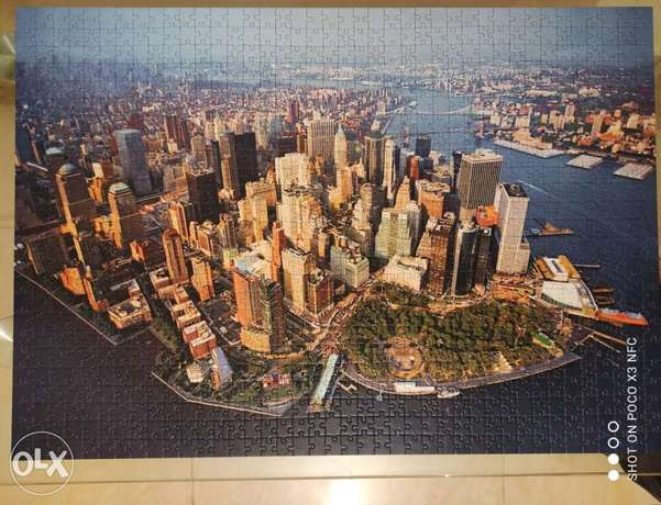 Trefl New York puzzle 1000 pieces