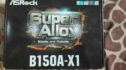 Asrock B150A-X1, Cpu, graphics kaart, screen and keyboard + mouse