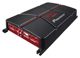 NEW Pioneer 4ch bridgeable amp with bassboost volume control GM-A6704