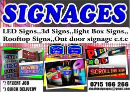 Sign boards makers