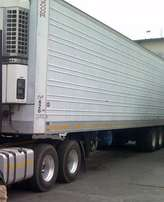 3 Axle Utility fridge