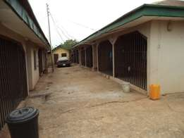 11 Apartment Building on 150x150ft for sale,along Okpanam Rd, Asaba