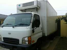 06 Hyundai HD72 4ton Cooler/fridge