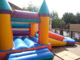 3 in 1 jumping castle for hire