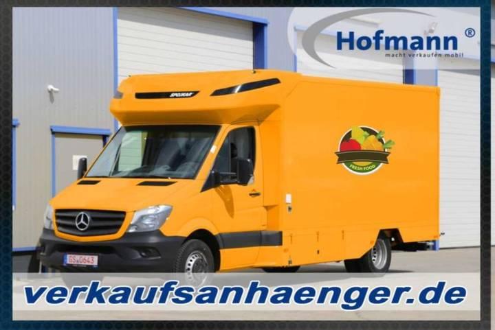 Mercedes-Benz Verkaufsfahrzeug, Verkaufsaufbau 420x230x230 cm