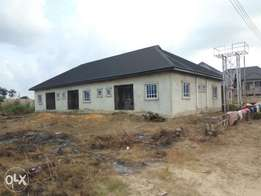 90% completed Bungalow of 3flat for sale at okuokoko