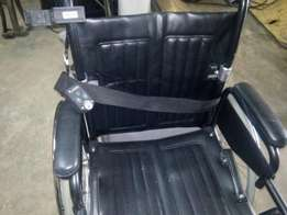 electric pure leather wheelchair